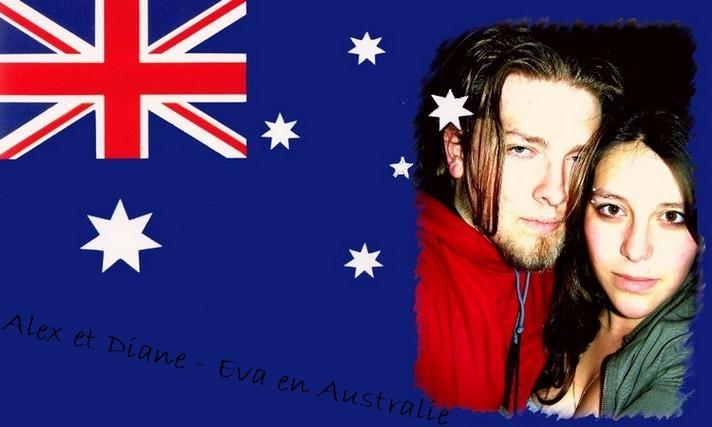 Diane-Eva et Alex en Australie