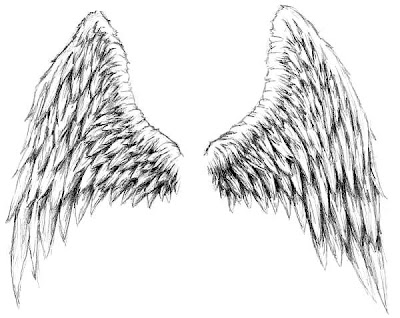tattoo designs Tattoo design with picture of double wing
