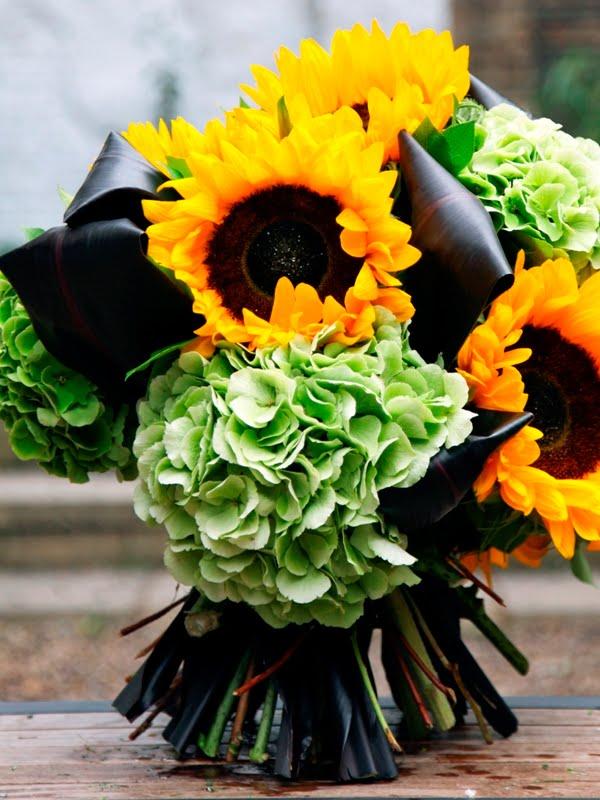 Shine Sunflowers Wedding Bouquet Wedding Flowers