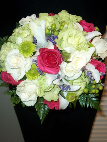 various wedding flowers Wedding flowers bouquet with pink rose white lilies