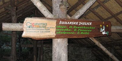 Šumarske jaslice - tabla