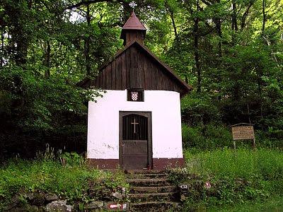 Kapelica Marije Snježne nekada
