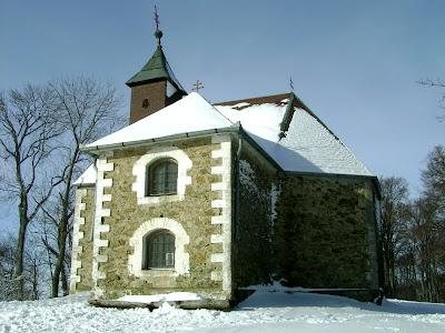 Crkvica Sv. Jakoba zimi