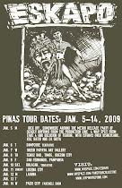 ESKAPO P.I. TOUR DATES
