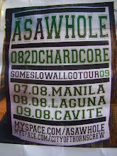 AS A WHOLE NCR TOUR