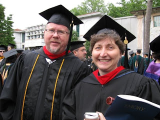 Scott Wilks, MDiv 09, and Jan McCoy, MDiv 09.
