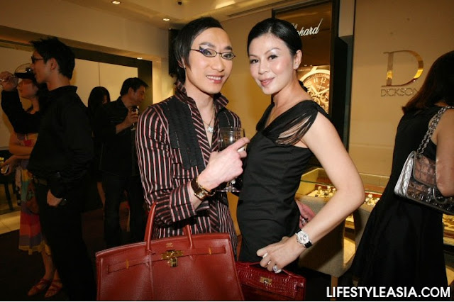 ... Birkin, Gold Hardware and SHAREL HO with her Crocodile Kelly Pochette