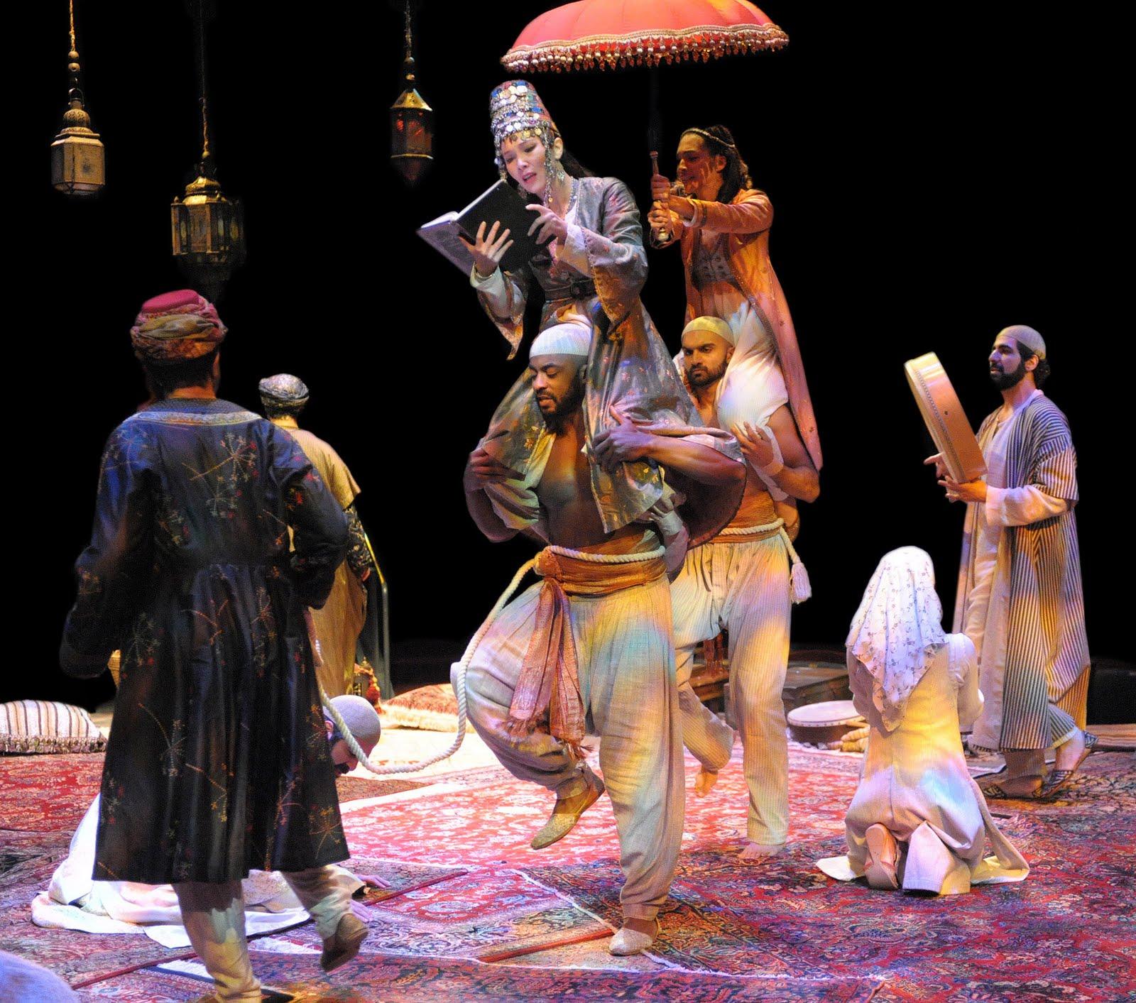 arabian nights play