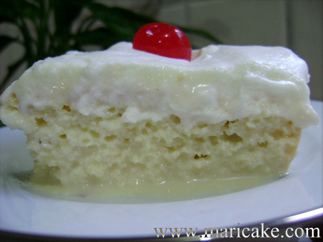 Dominican Tres Leches Cake And a real tres leche cake
