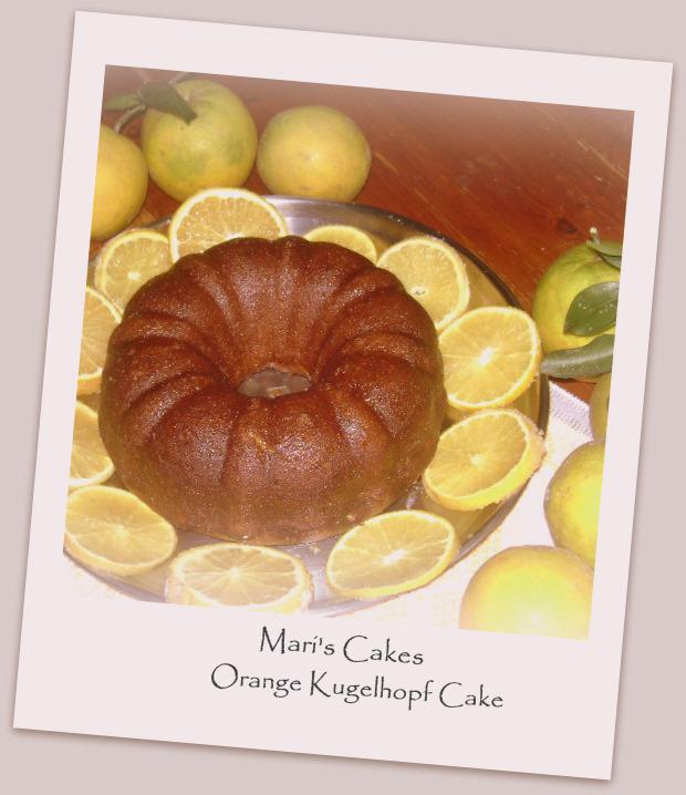 Orange Kugelhopf Cake | Mari's Cakes (English)