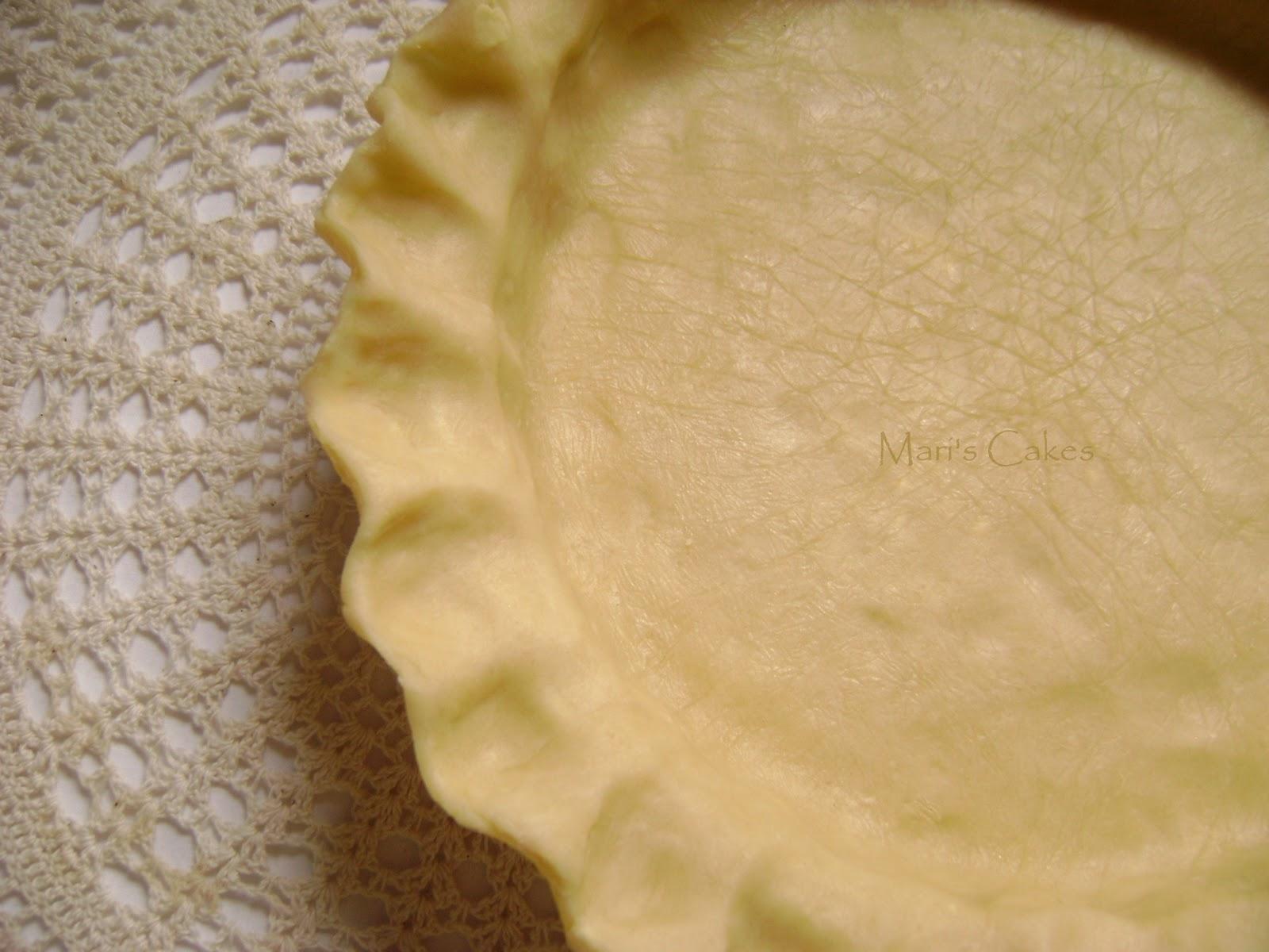 Easy Pie Crust | Mari's Cakes (English)