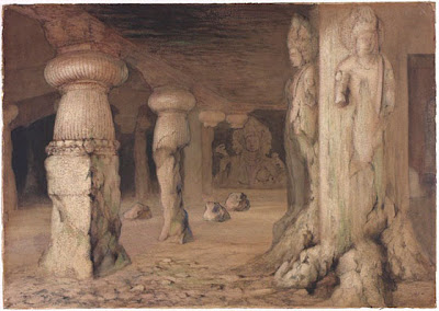 The famous Elephanta Caves