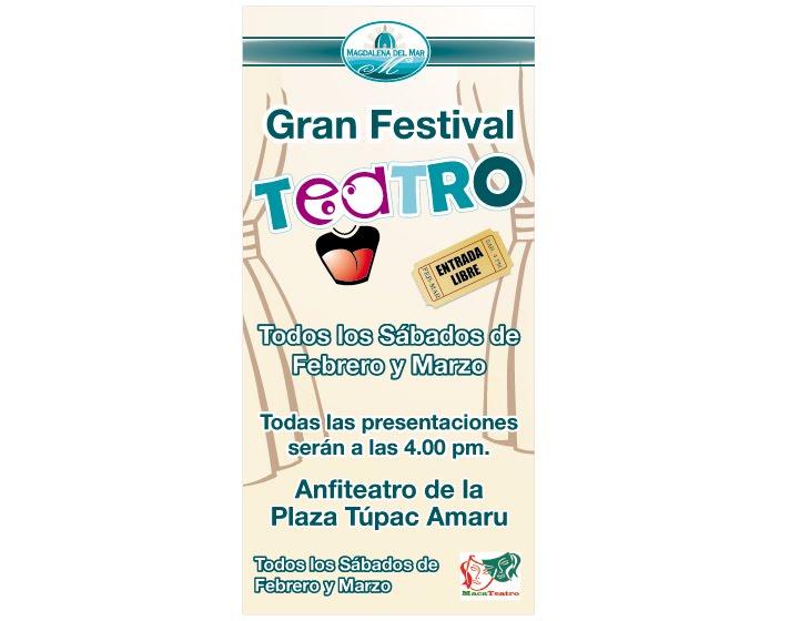 FESTIVAL DE TEATRO DE VERANO