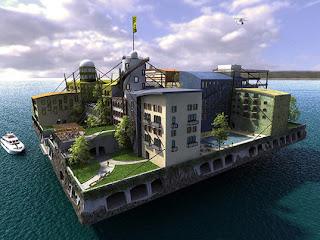 Kota Terapung di Atas Lautan