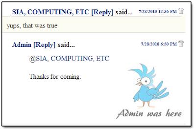 Cara Memasang Reply di Kotak Komentar Blogspot