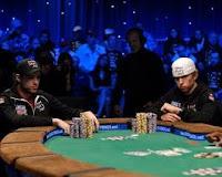 Partida de poker con solo dos jugadores (head ups)