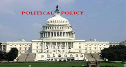 POLITICAL POLICY