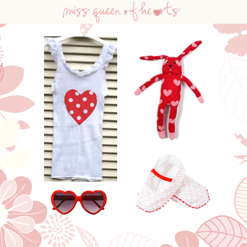 Chic Mother and Baby Miss Queen of Hearts