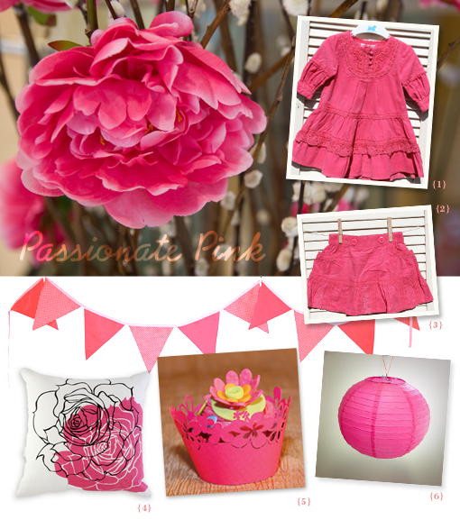 my colour palette hot pink
