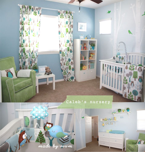 Woodland Themed Nursery: Chic Mother & Baby Blog {daily}: July 2010