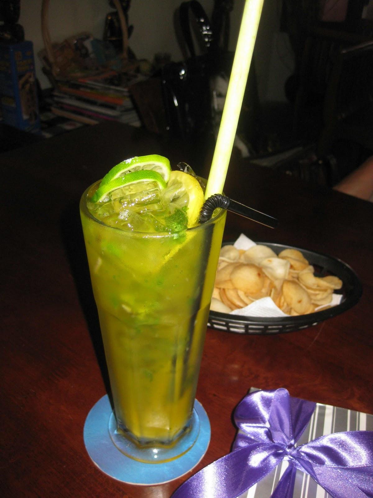 Refreshing Lemongrass Nojito