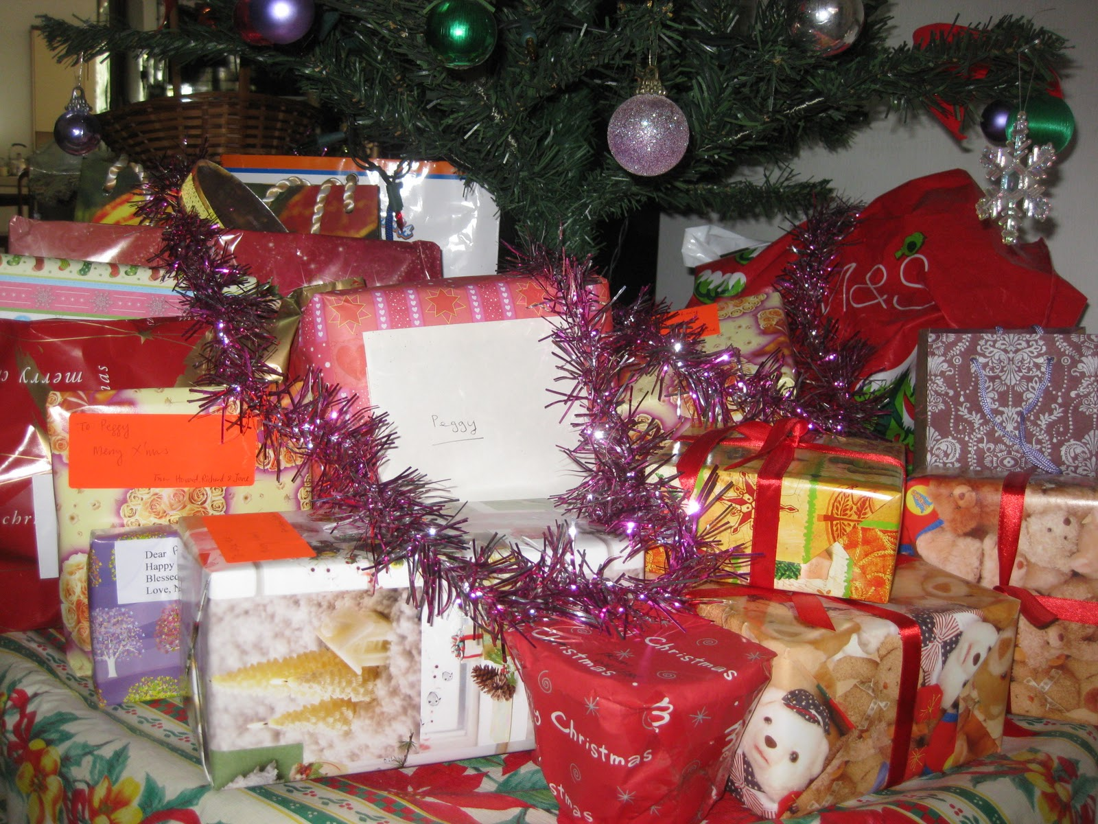 Gifts Under Our Christmas Tree