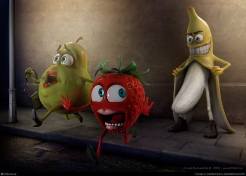 banana tarada
