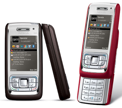 Feature of Nokia E65