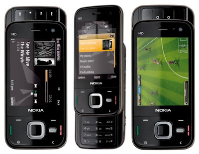 Feature of Nokia N85 border