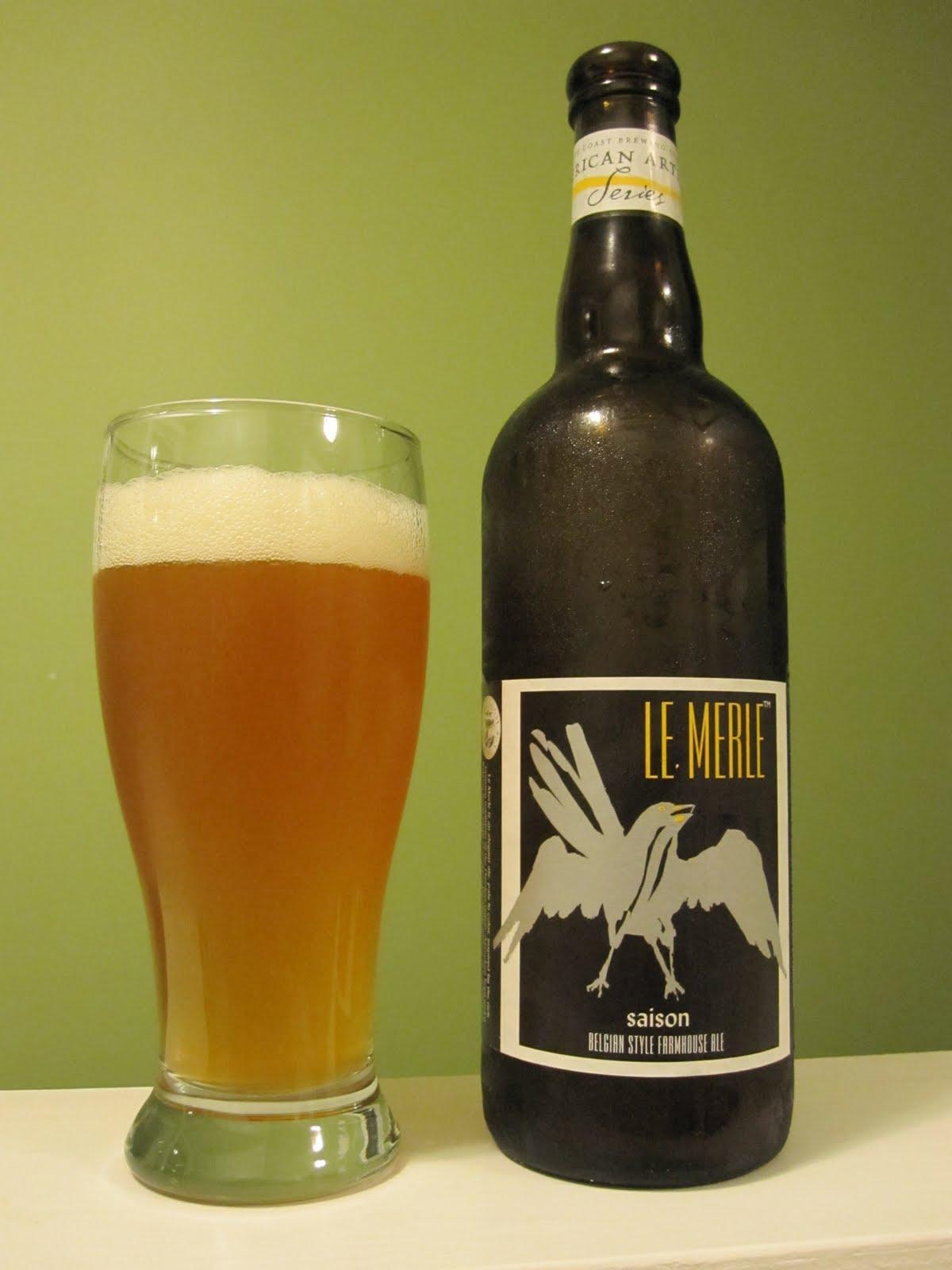 PEI Beer Guy Le Merle Saison Farmhouse Ale