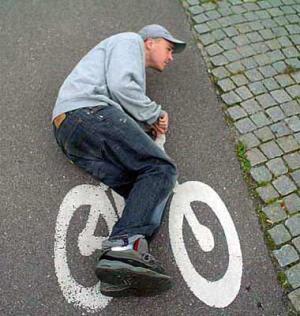 foto lucu sepeda