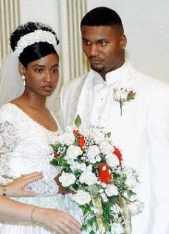 sahel kazemi, steve mcnair wife, mechelle mcnair, sahel kazemi photo, MCnair killed football