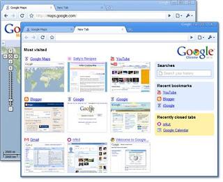 google chrome preview