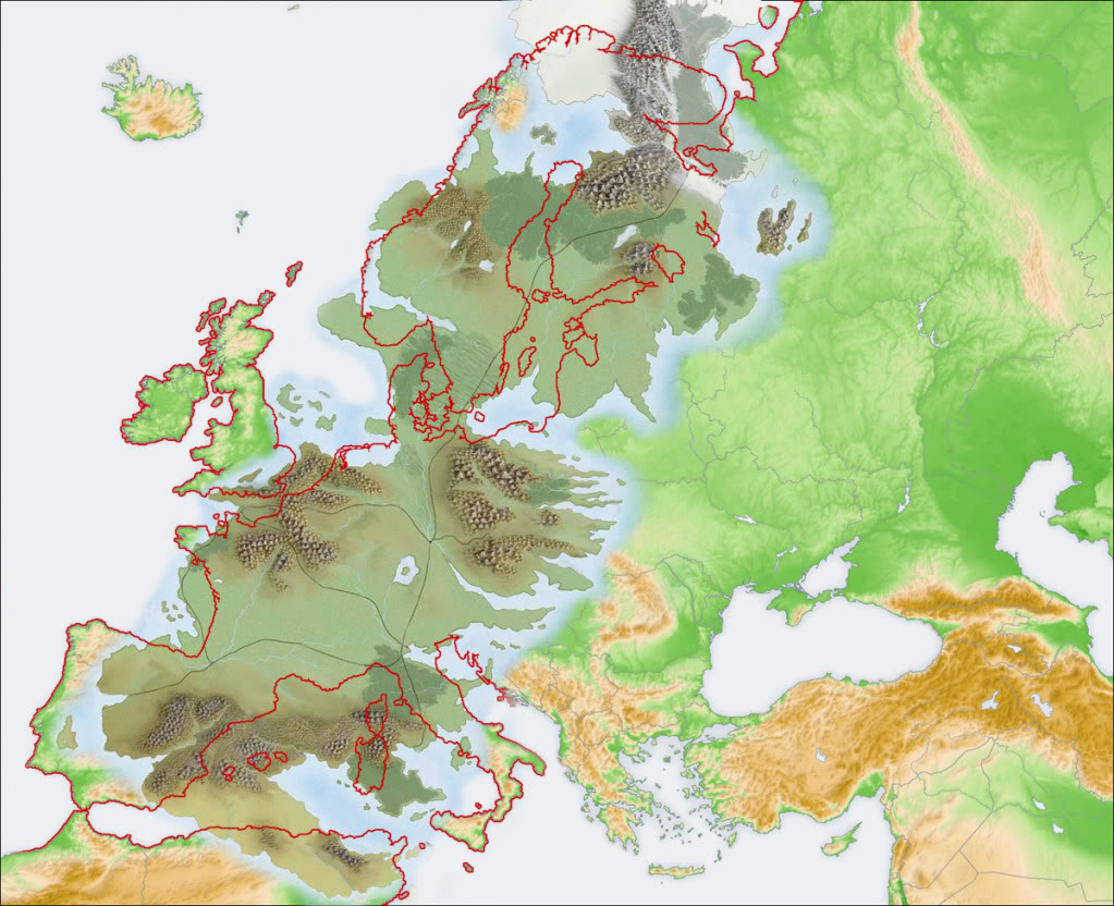 How big is the planet that westeros is on tor westeros compared to europe gumiabroncs Gallery