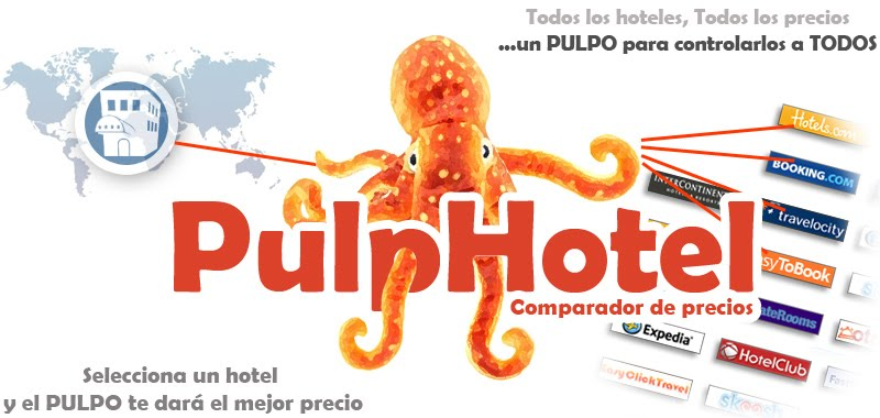 Pulphotel, comparador de precios de hoteles & agencias de viajes