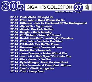 Giga Hits Collection 80s Vol 27