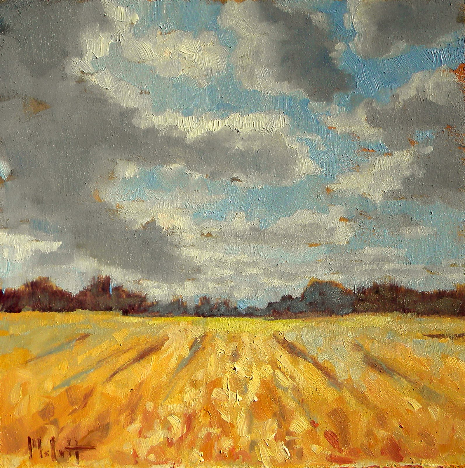 Painting: Painting Daily Heidi Malott Original Art: September 2010