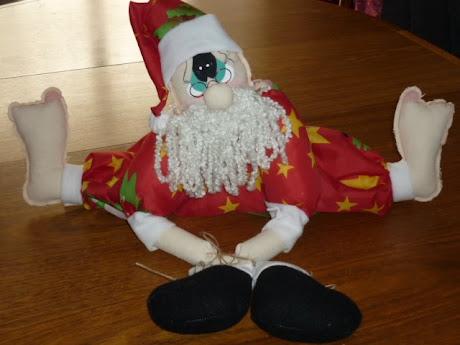 A Papá Noel le duelen los pies!!