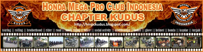 Honda Mega Pro Club Indonesia Chapter Kudus