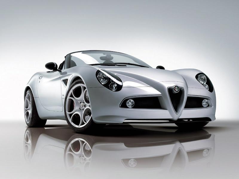 2009 Alfa Romeo 8C Spider V8