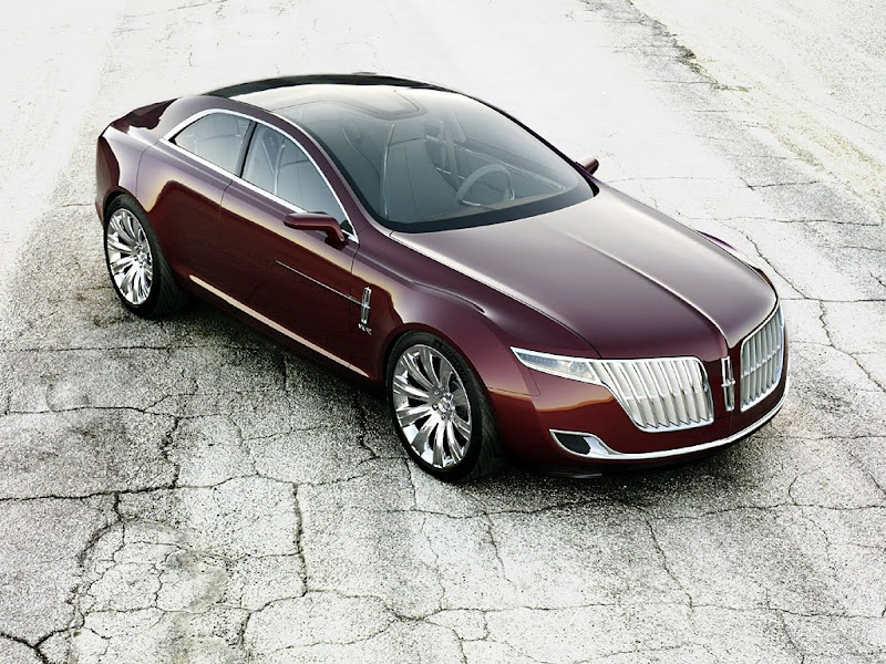 2007 Lincoln MKR Auto Concept Twin-Turbo V6