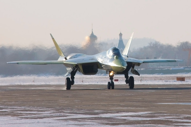 5th Generation Rusian Figthers Jet Sukhoi T-50