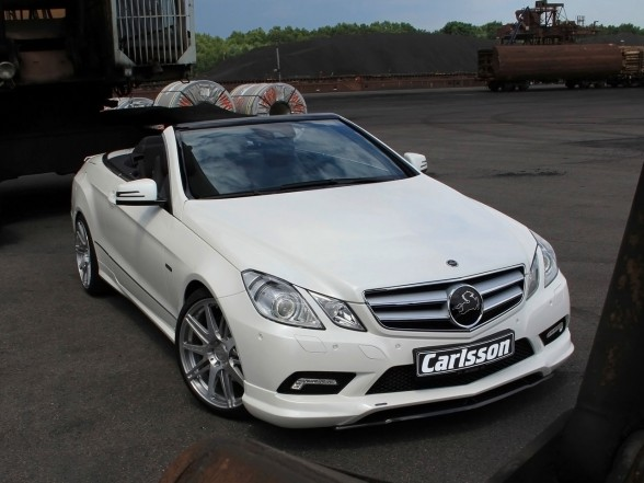 2010 Mercedes-Benz E-Class Cabriolet Carlsson Editions