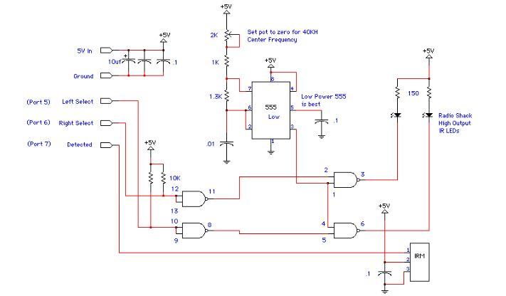 Simple Proximity Detector Circuit Based 555 IR