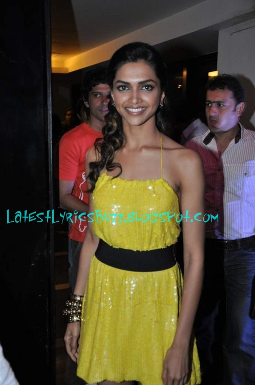 Deepika Padukone Mini Skirt