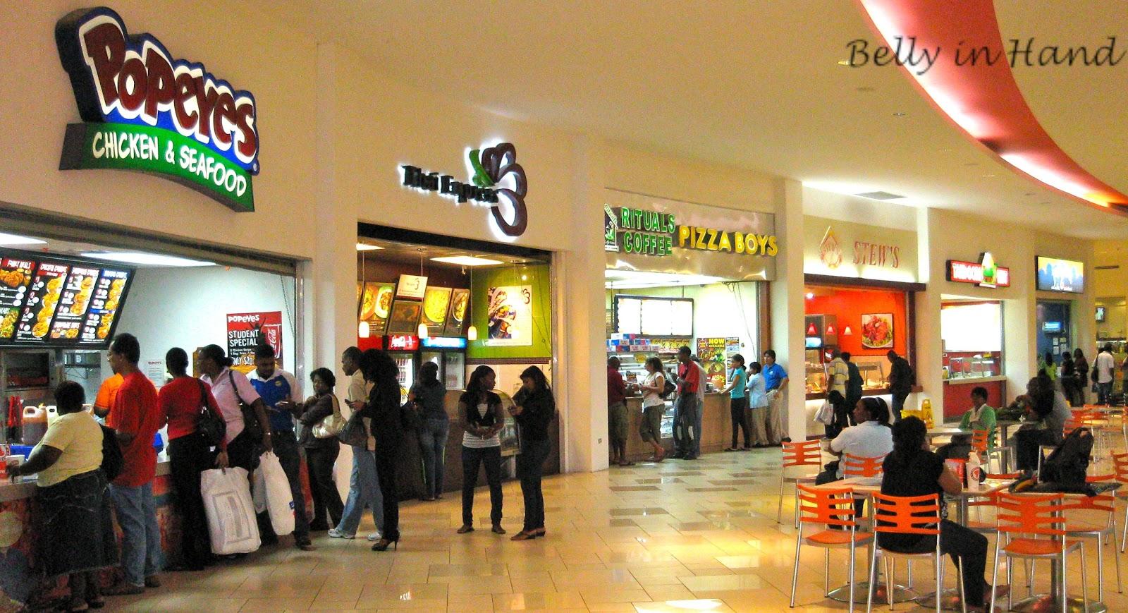 Trincity Mall Food Court