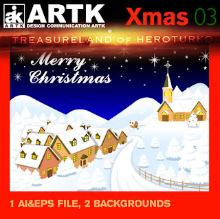 ARTK Design - Xmas 03 - Christmas Backgrounds
