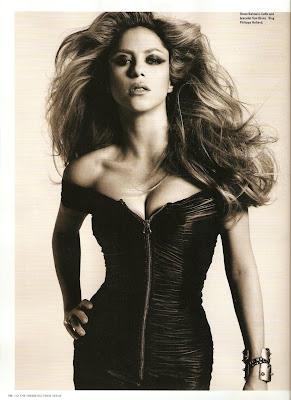 Shakira en i-D Magazine Noviembre 2009