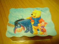 Caixa winnie the pooh
