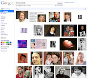 Google Images has a new format (google images face)